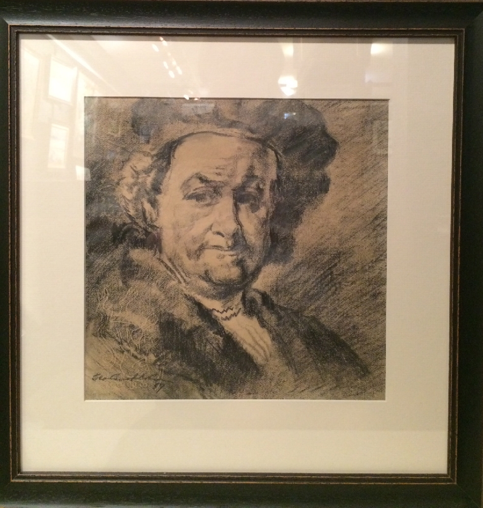 Соколов-Скаля Павел Петрович. Рембрандт.