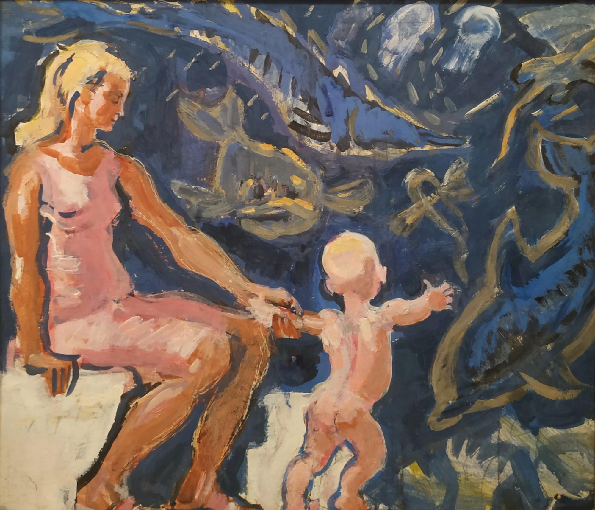 Зернова Екатерина Сергеевна. Мать с младенцем