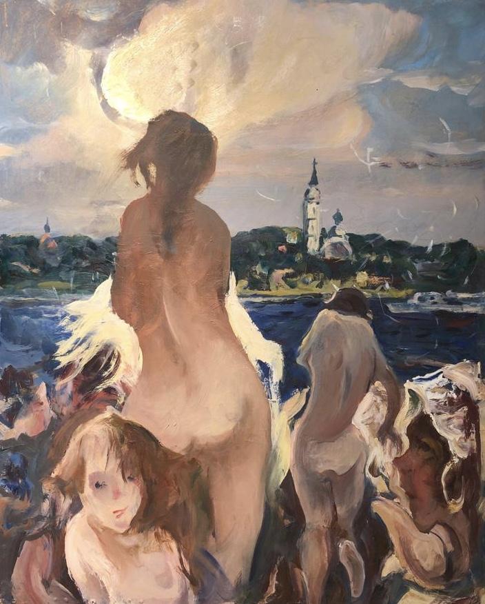 Скок Владислав Антонович. На Волге