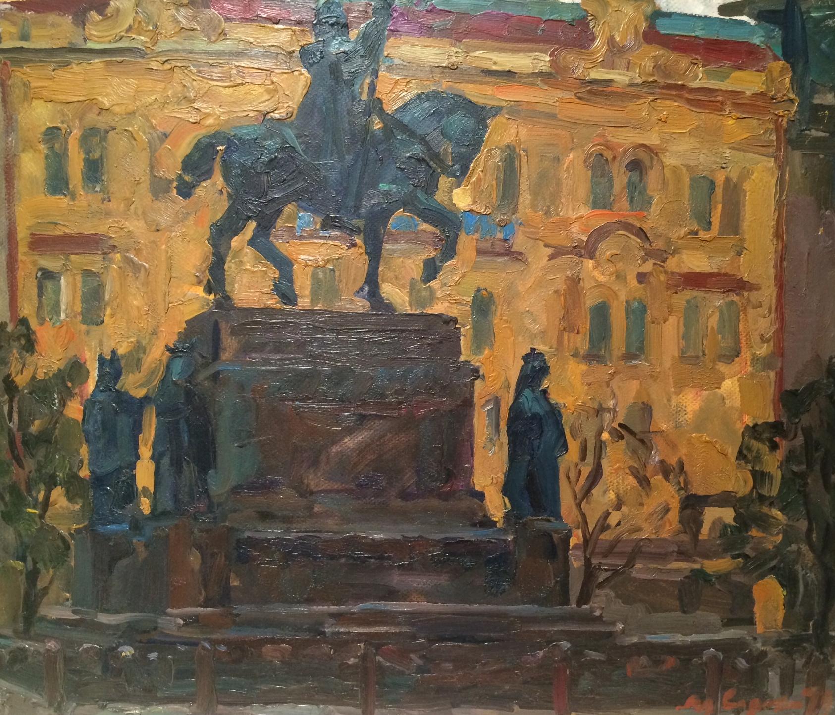 Сорокин Иван Васильевич. Памятник Св. Вацлаву.