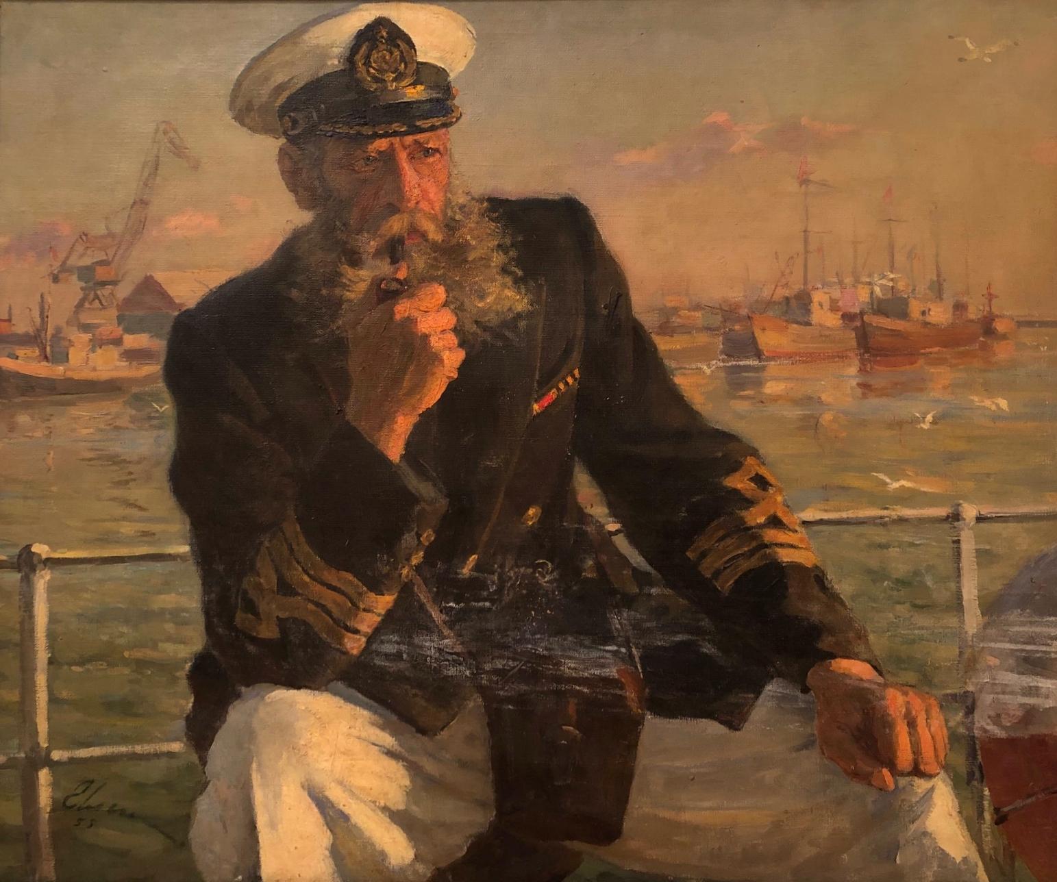 Ильин Иосиф Михайлович. Старший капитан