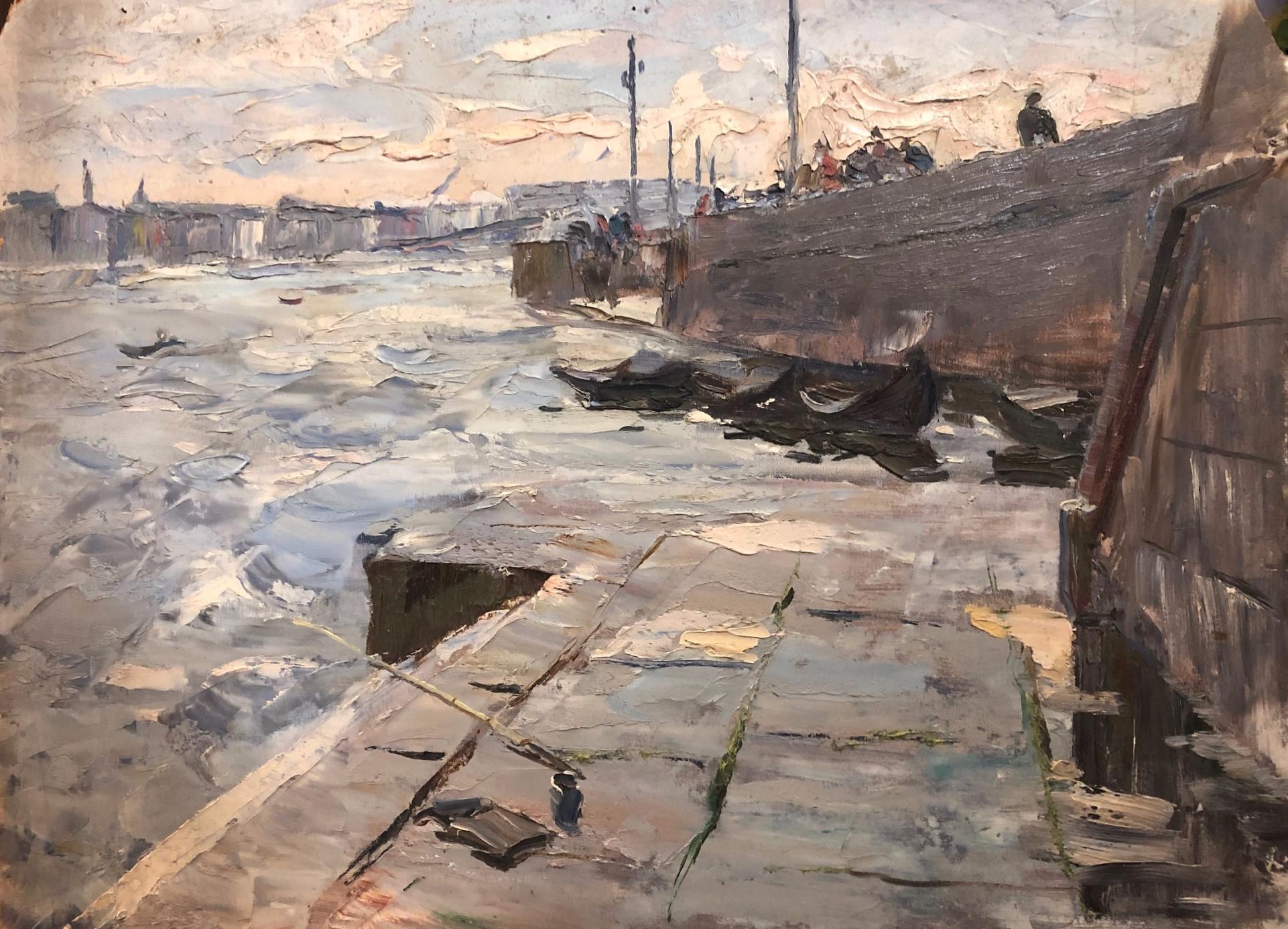 Перов Александр Петрович. Нева