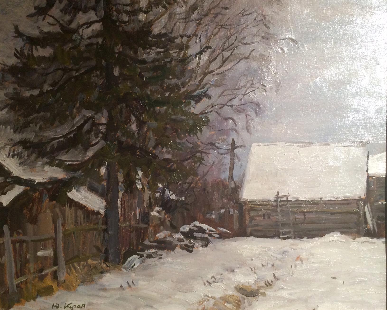 Кугач Юрий Петрович. Снег выпал