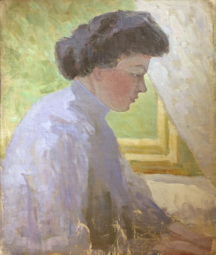 Костенко Константин Евтихиевич. Женский портрет