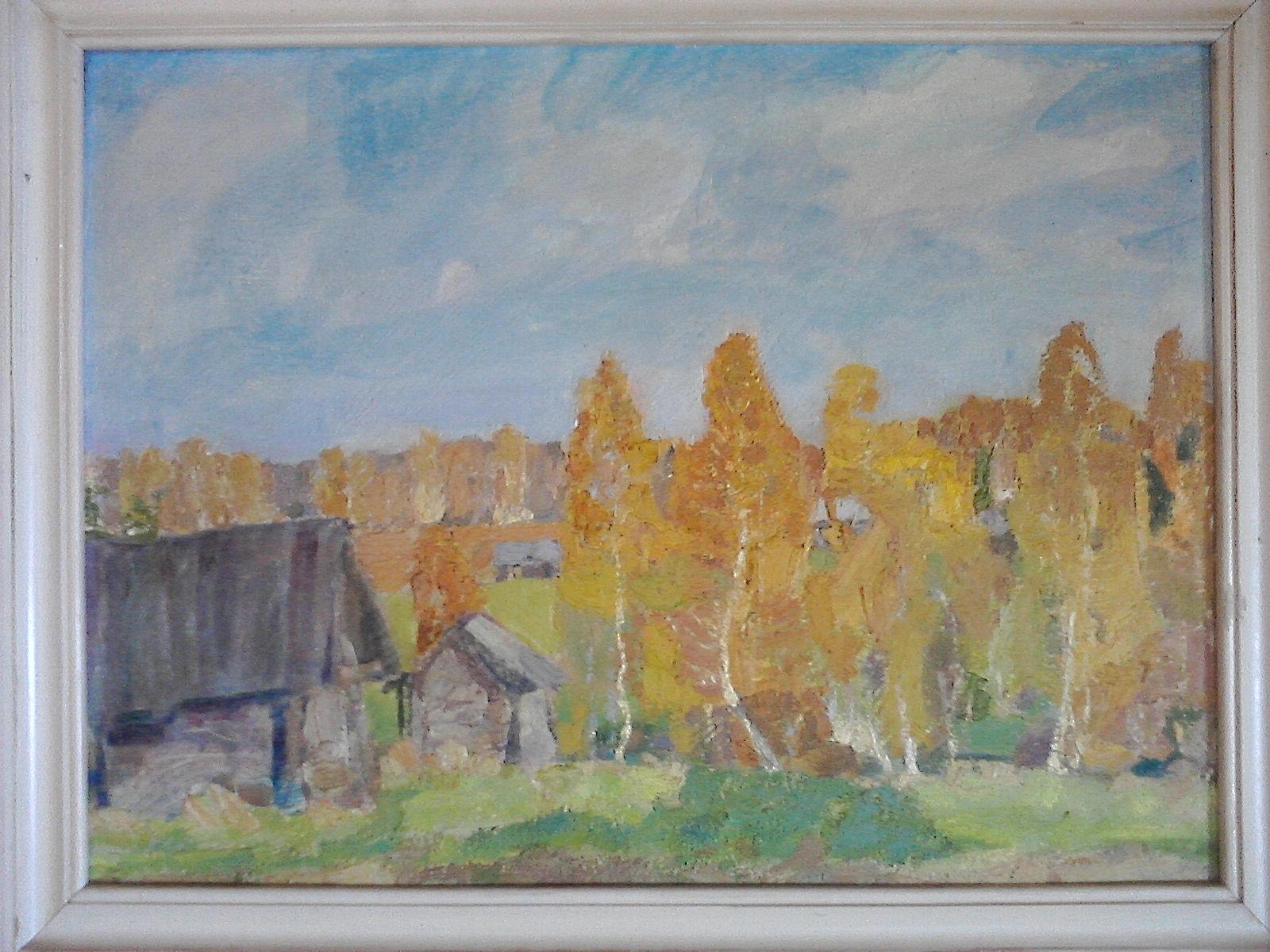 Егоров Валерий Сергеевич. Солнечное утро