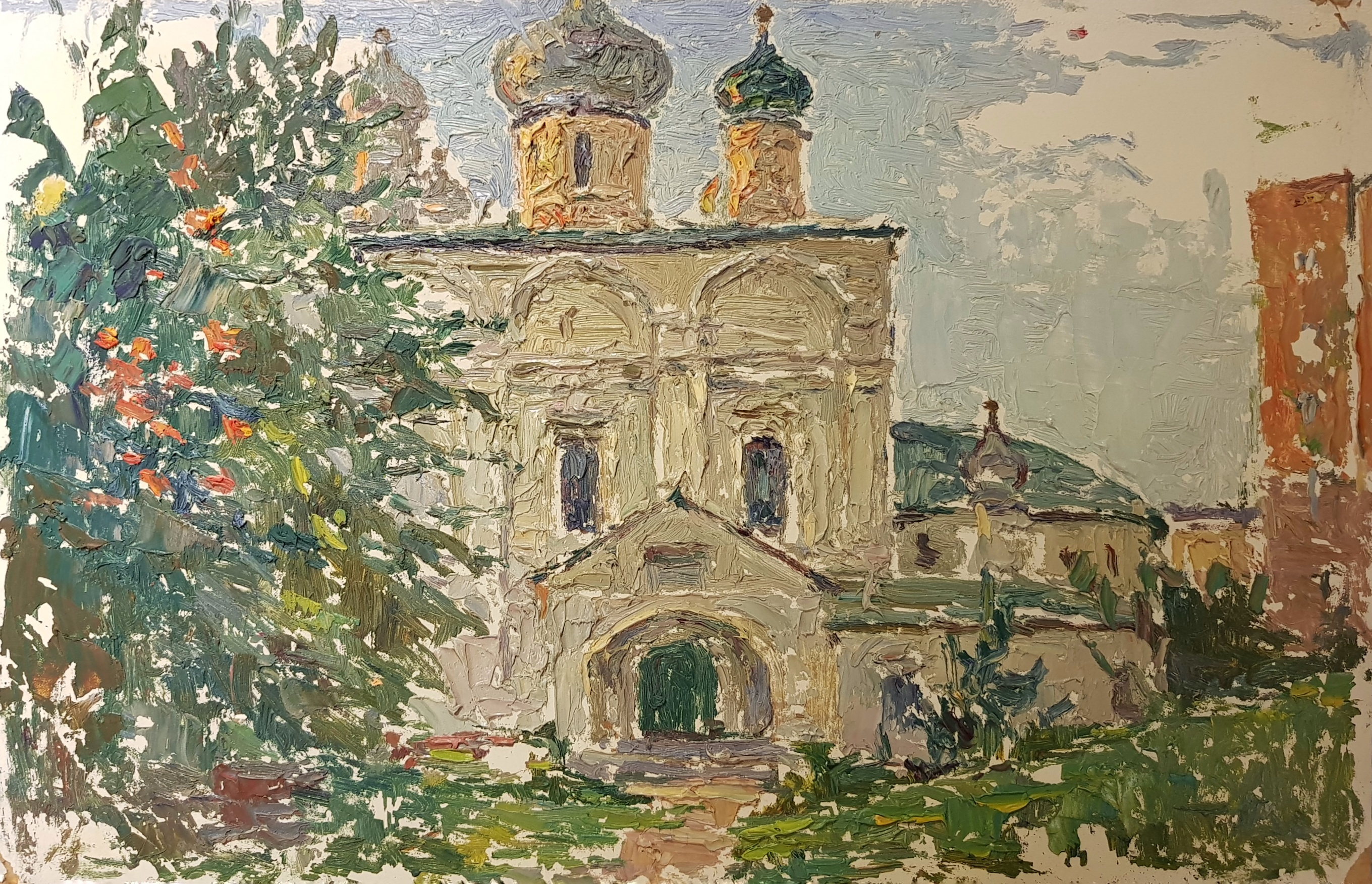 Безикович Борис Николаевич. Храм