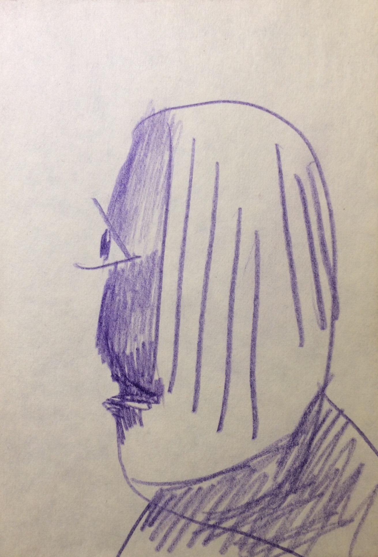 Яковлев Владимир Игоревич. Фиолетовый портрет.