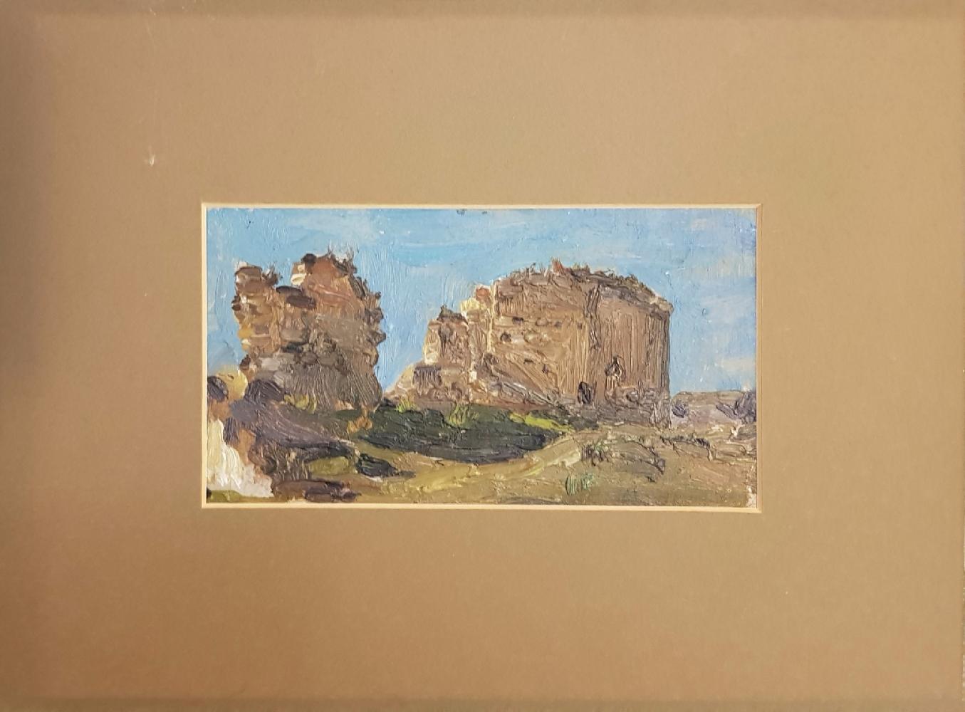 Малютина Ольга Сергеевна. Старая крепость в Тифлисе