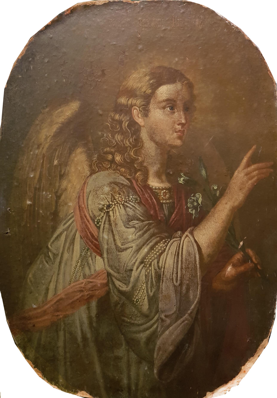 Неизвестный художник . Св. Архангел Гавриил