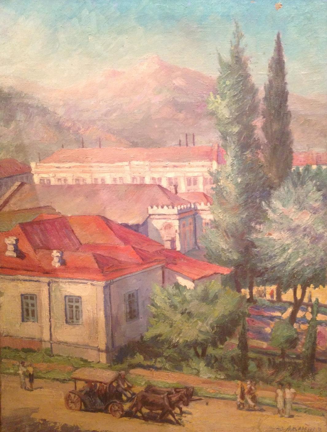 Жаренов Александр Сергеевич. Кавказ.