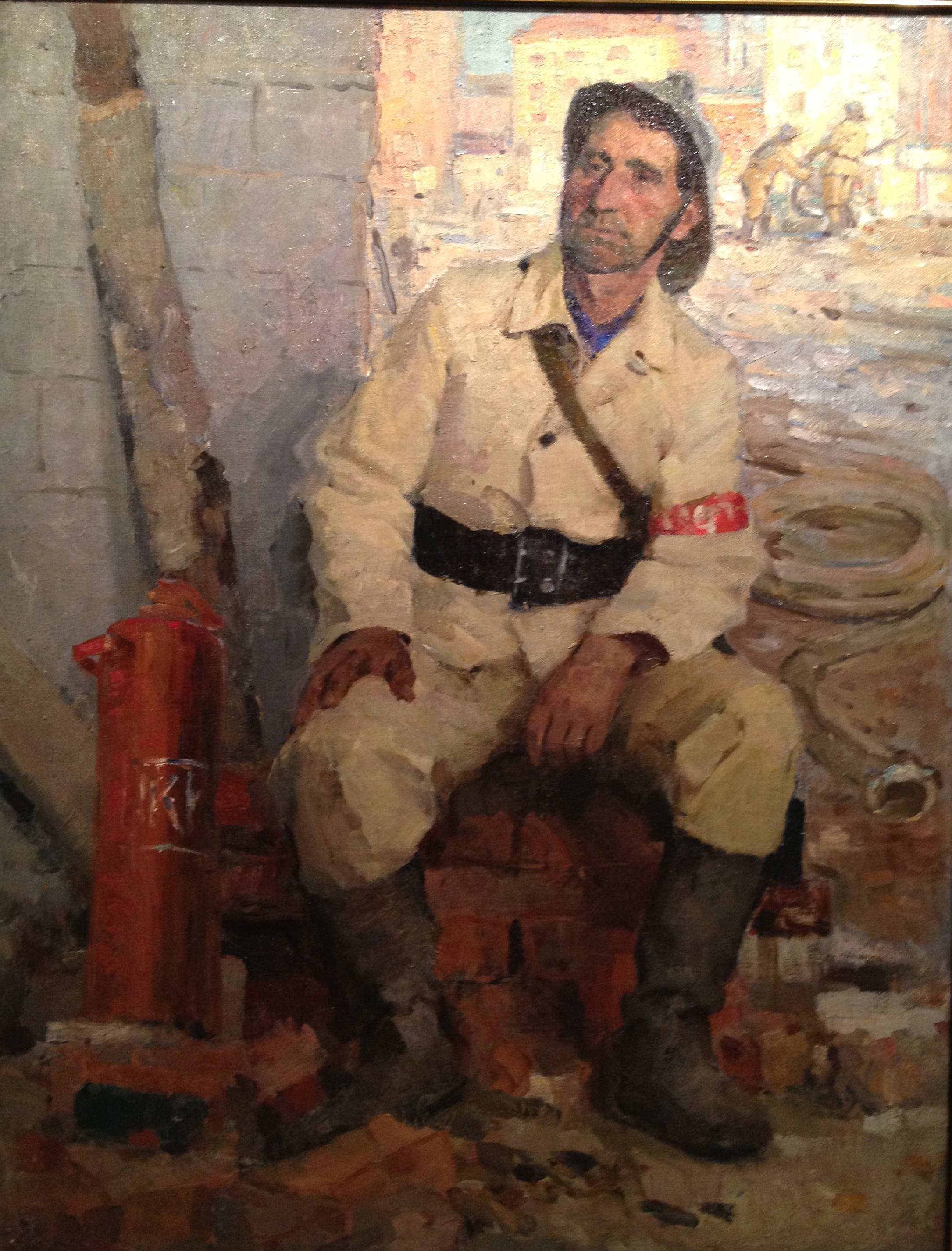 Погребняк Николай Степанович. Пожарный.