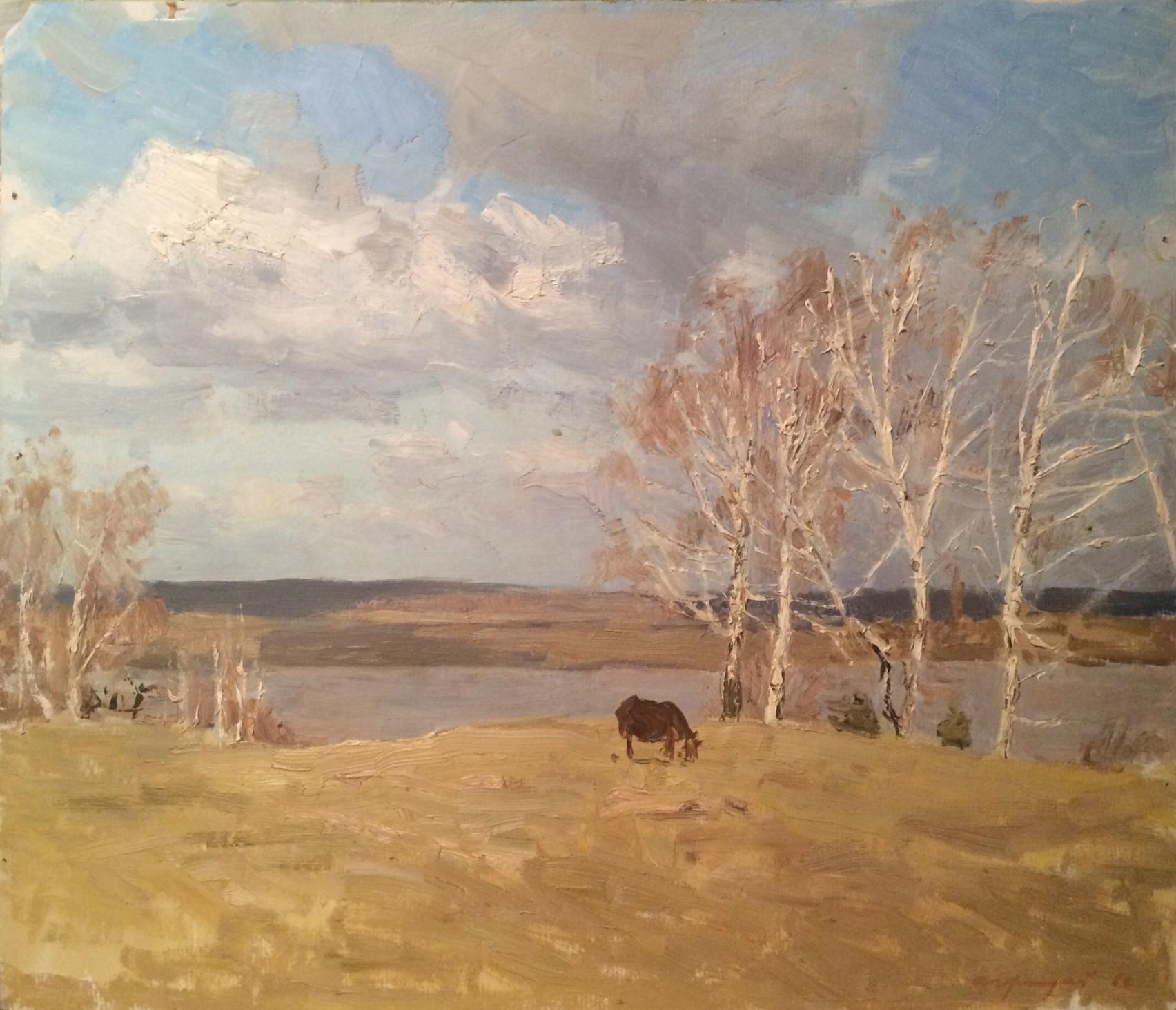 Грицай Алексей Михайлович. Весенний ветер