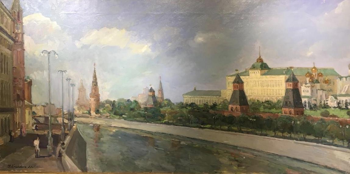 Козочкин Николай Сергеевич. Кремль