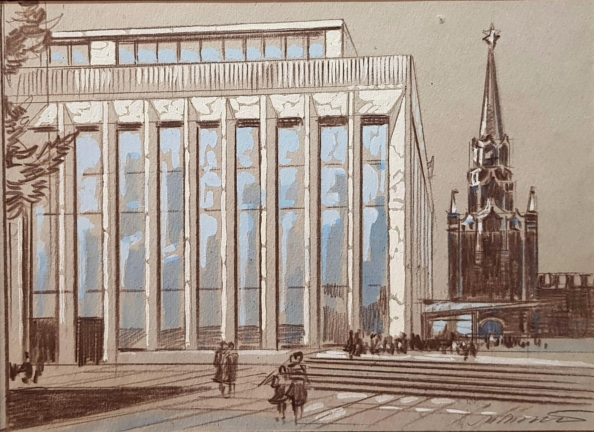 Маторин Михаил Владимирович. Дворец съездов