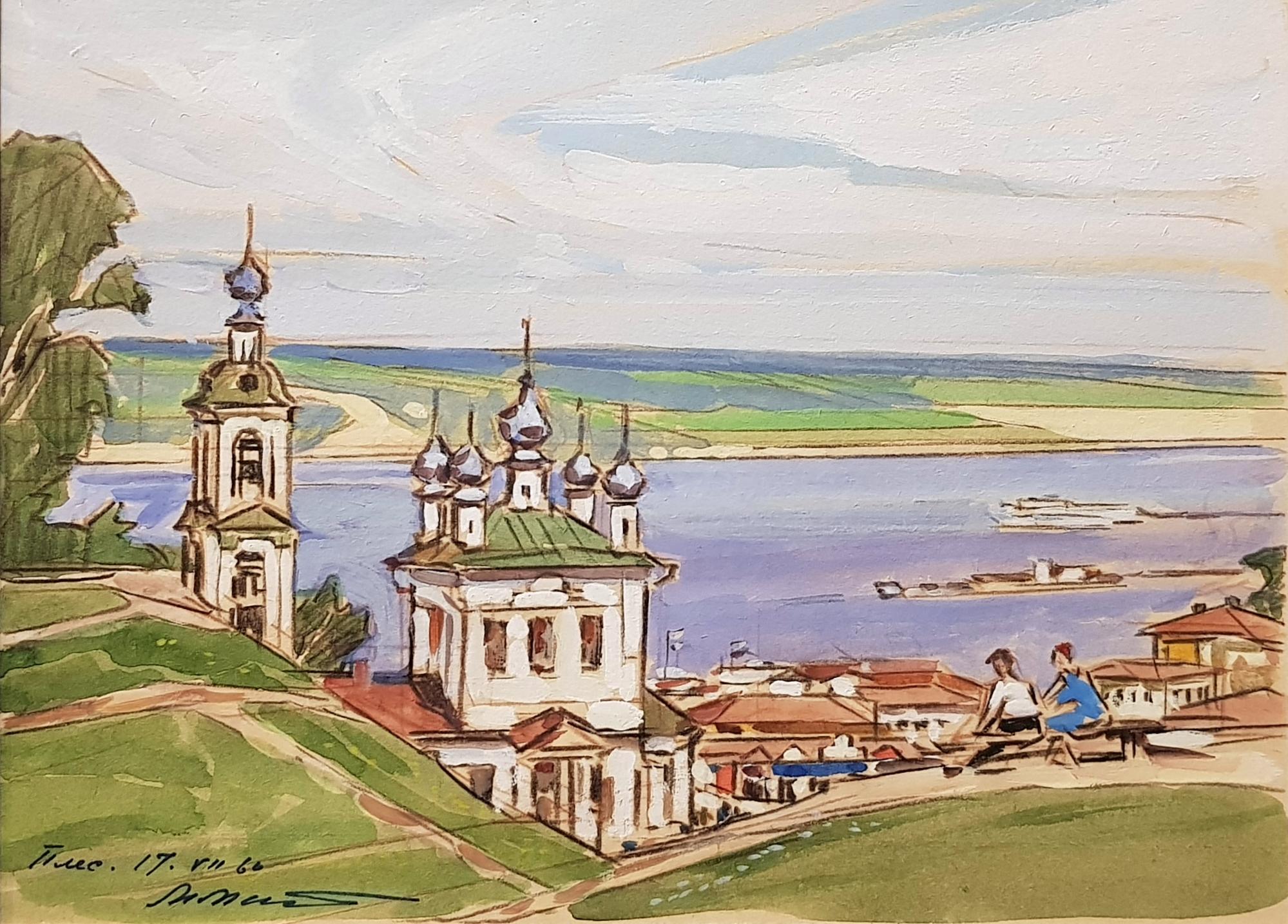 Маторин Михаил Владимирович. Плес