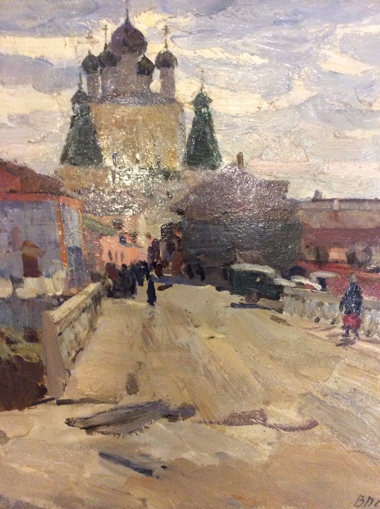 Нечитайло Василий Кириллович. Борисоглебск
