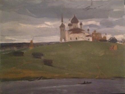 Варичев Иван Михайлович. Волхов