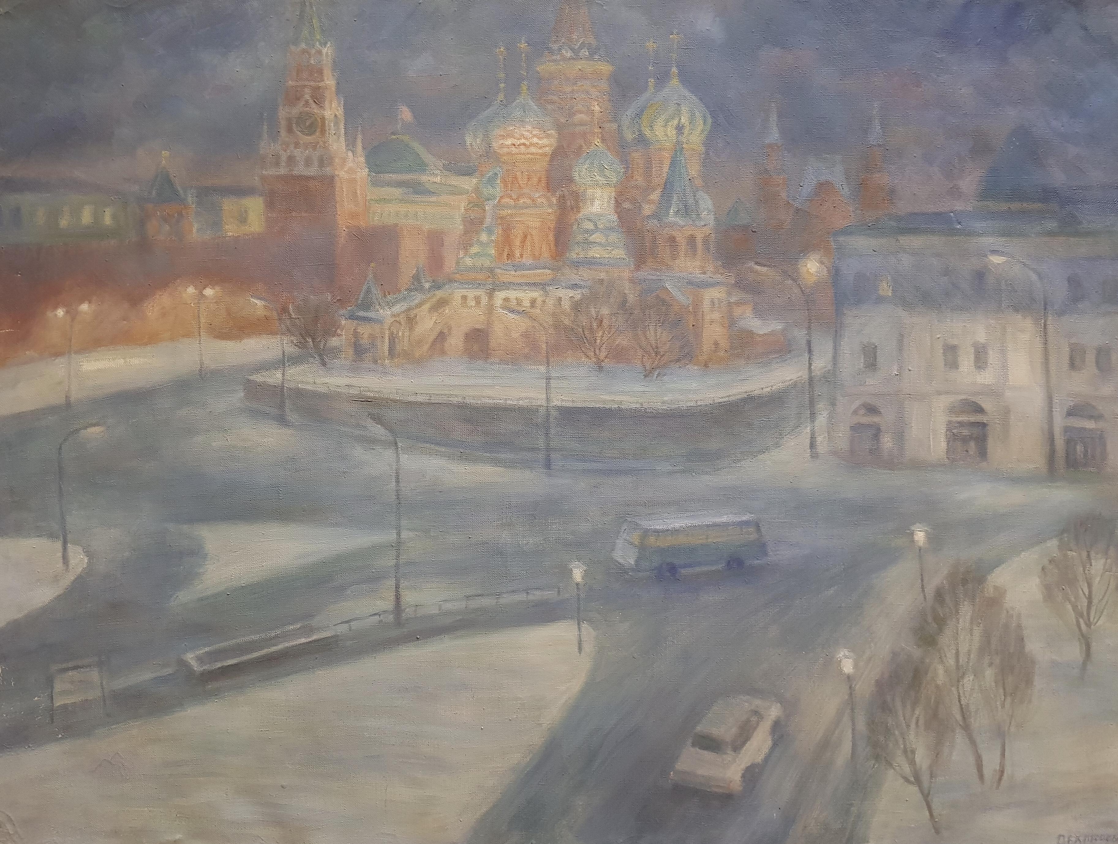 Дехтерева Татьяна Александровна. Ночной Кремль