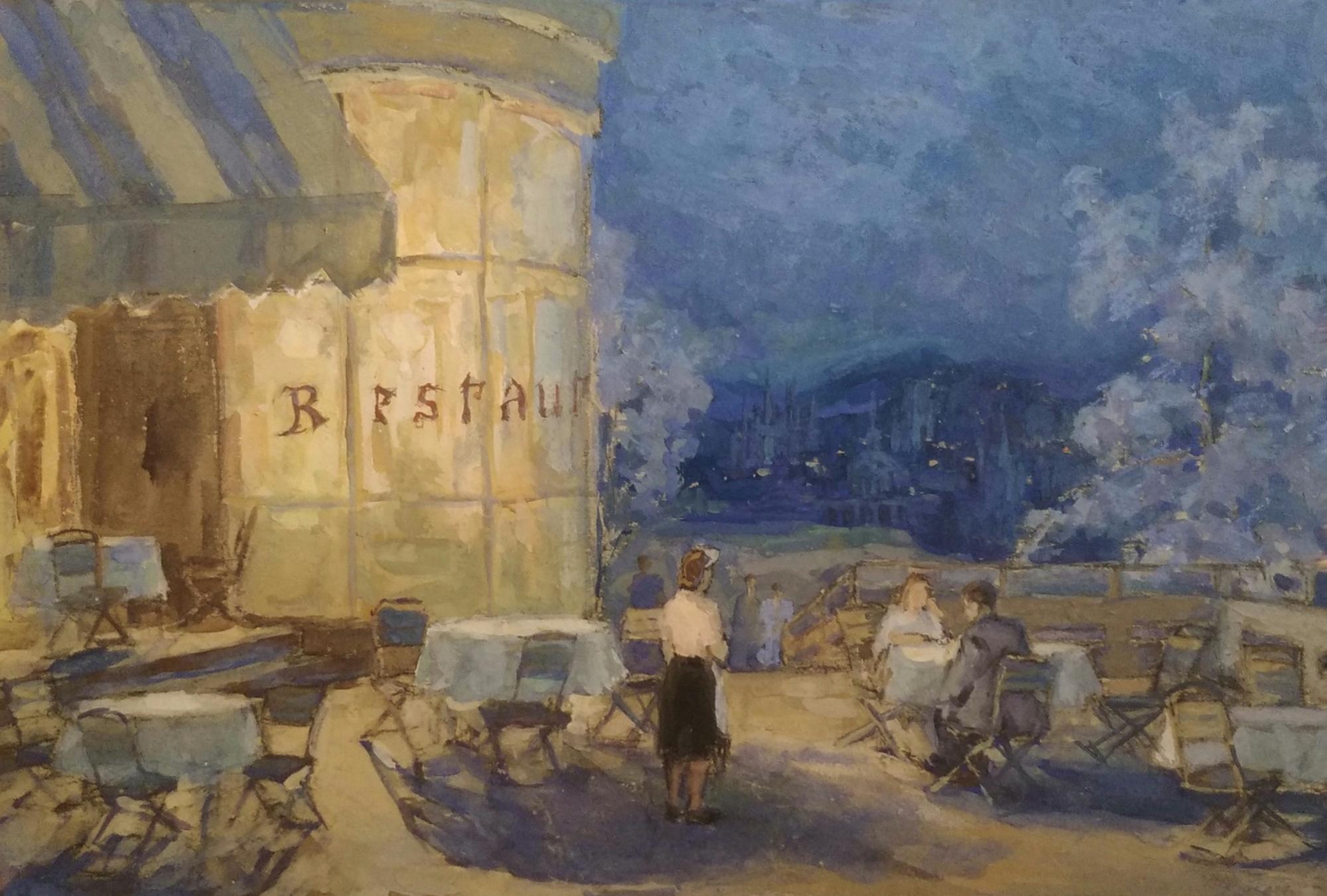 Дехтерева Татьяна Александровна. Ресторан