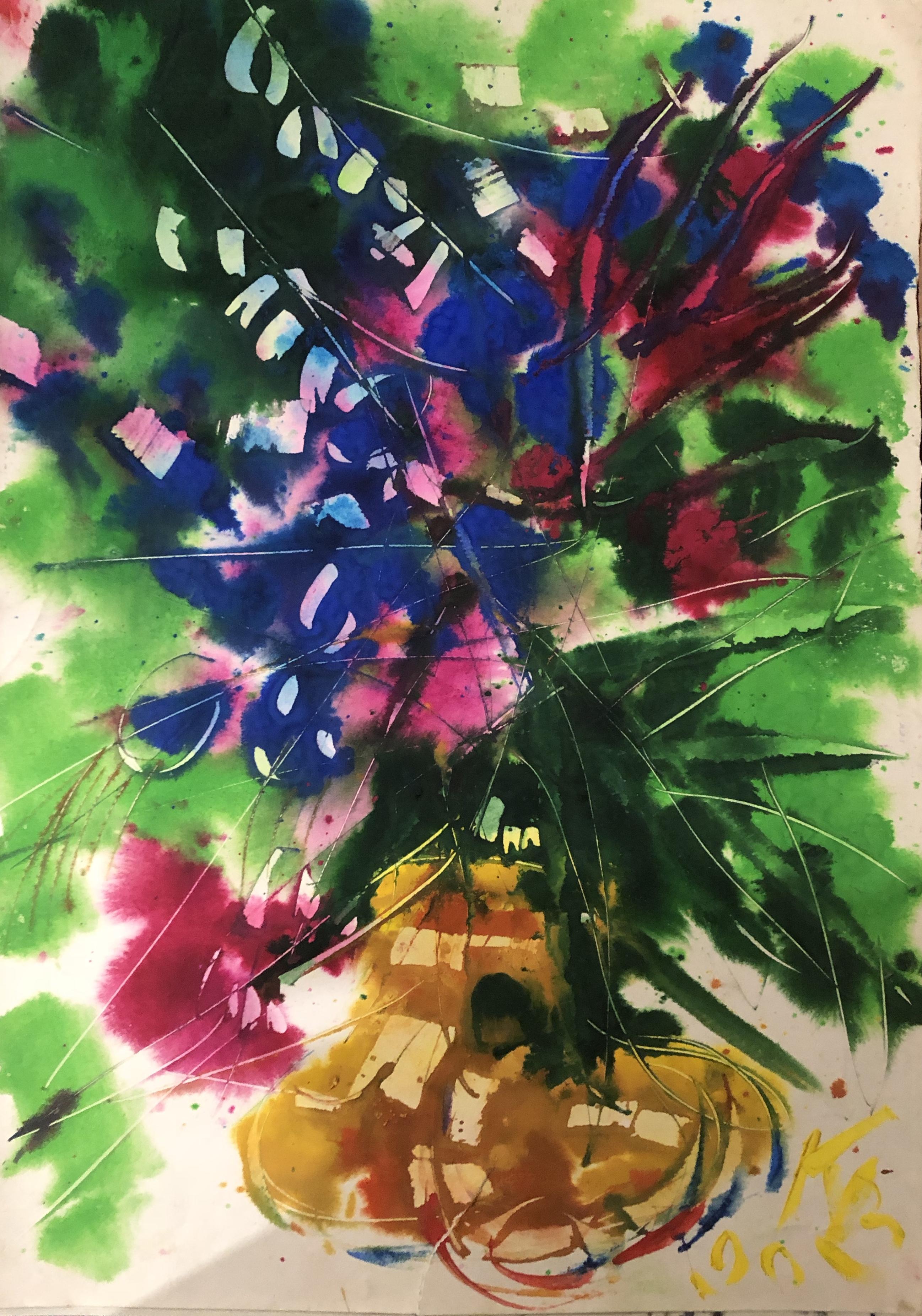 Казарин Виктор Семенович. Цветы