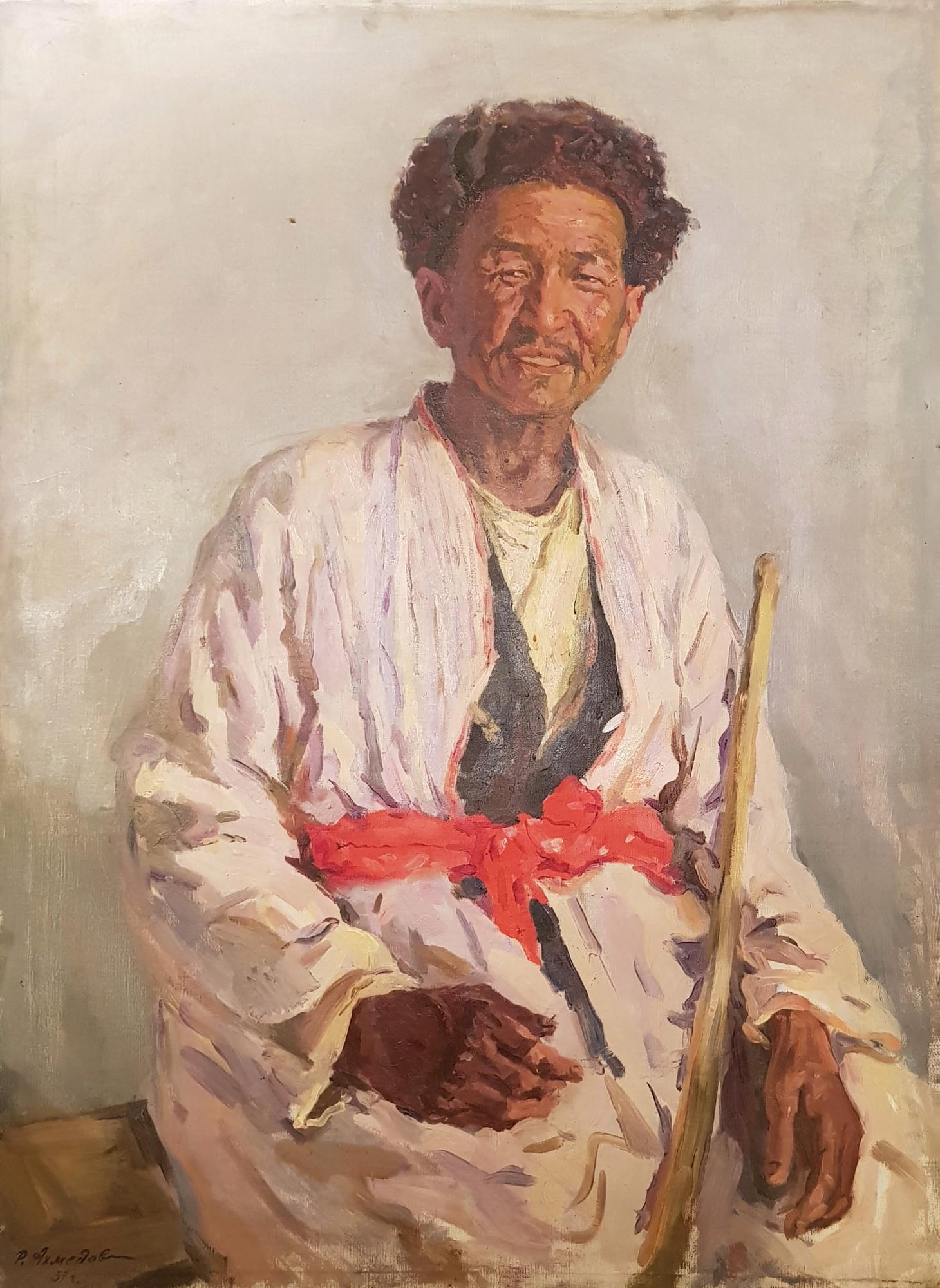 Ахмедов Рахим Ахмедович. Мужской портрет