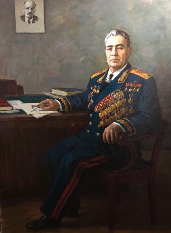 Пензов Иван Алексеевич. Леонид Ильич Брежнев.