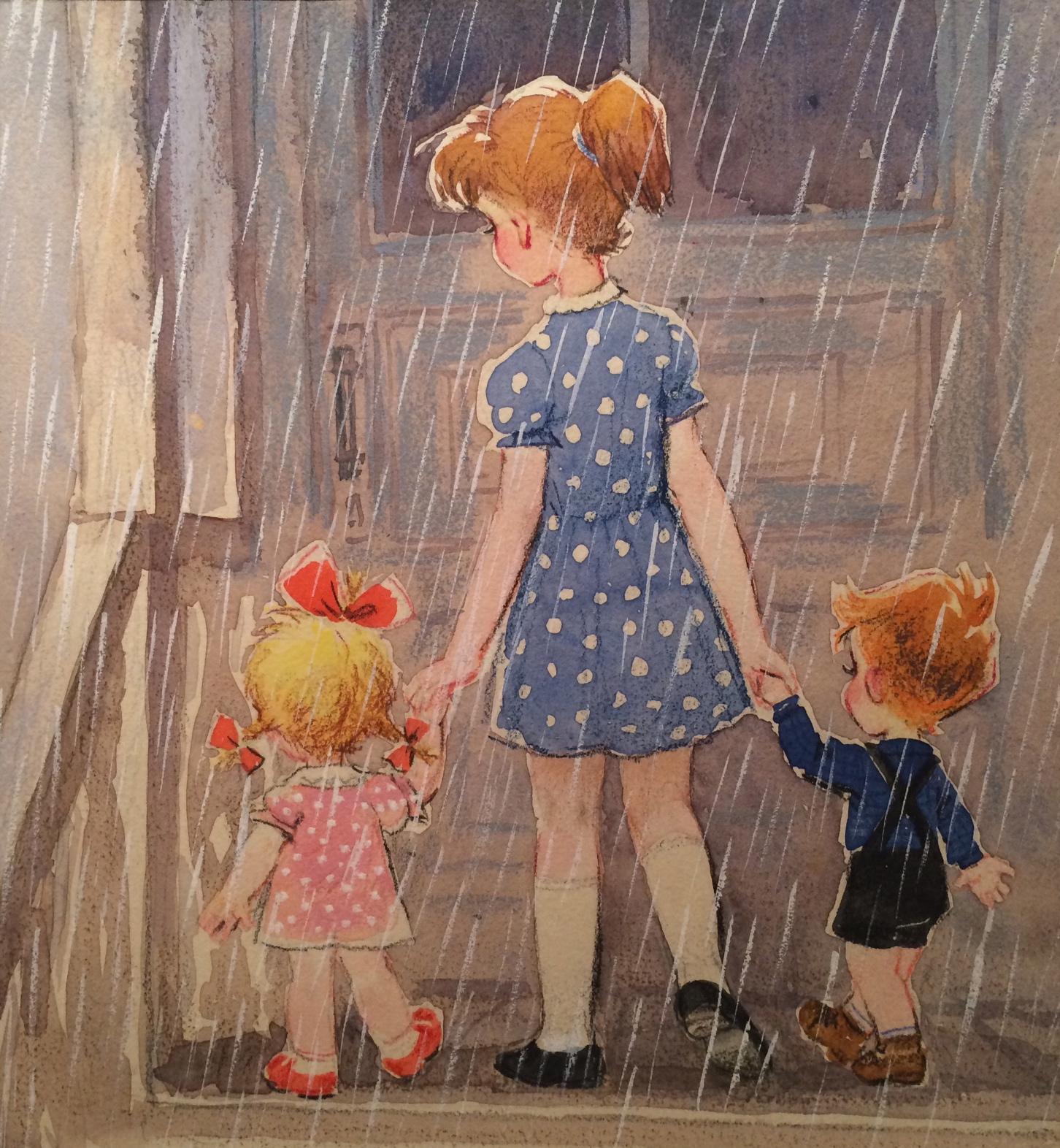 Зеброва Тамара Александровна. Дети пошли домой