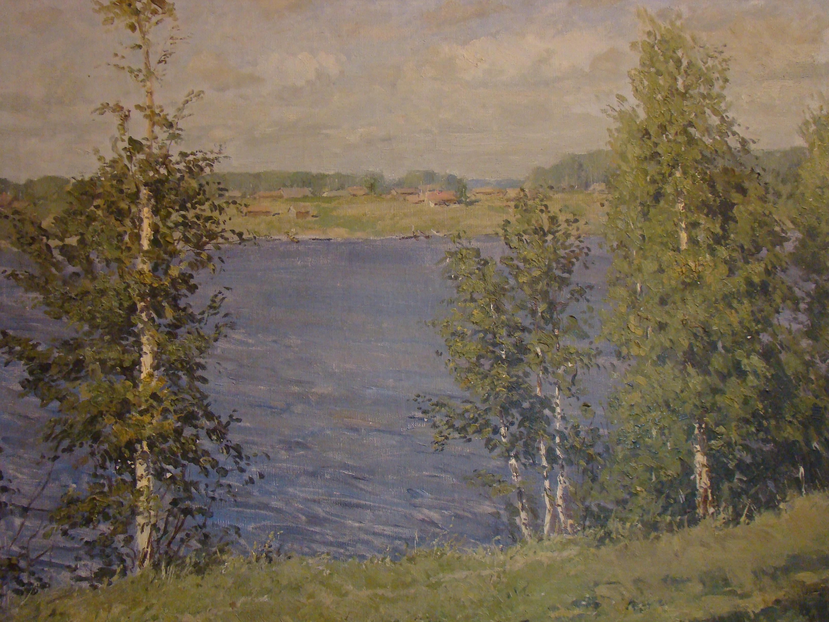 Хаимов Яков Маркович. Водохранилище у Тишково.