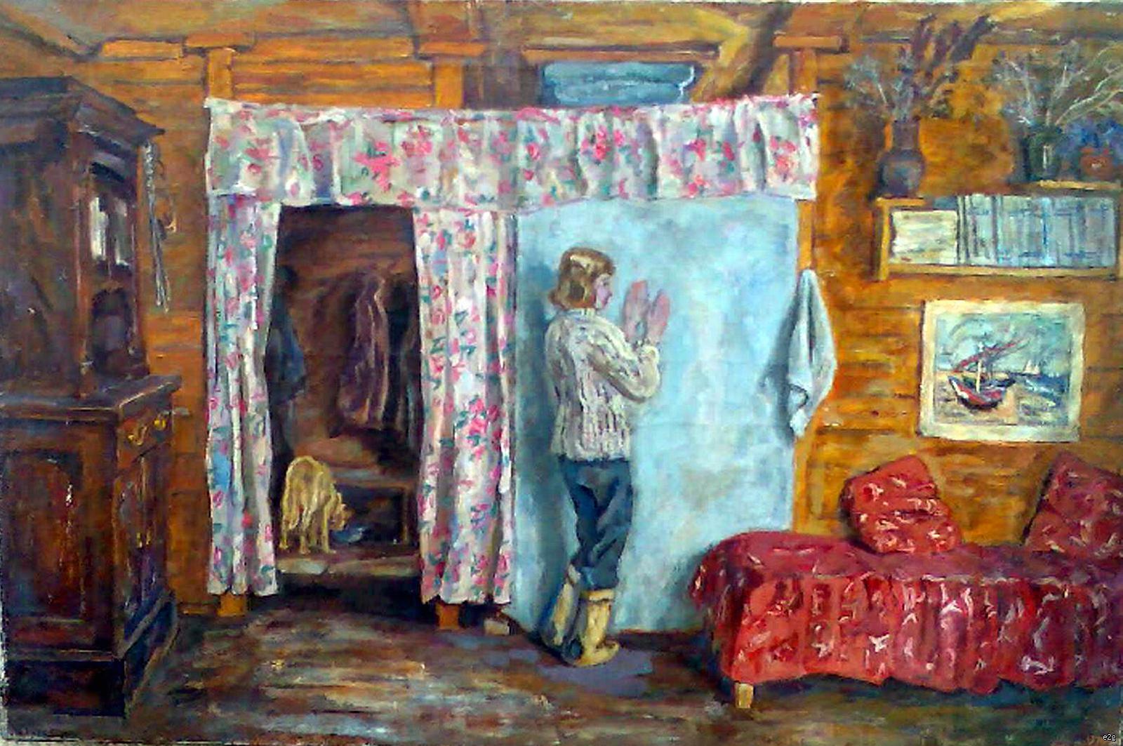 Тутунов Андрей Андреевич. На каникулах.