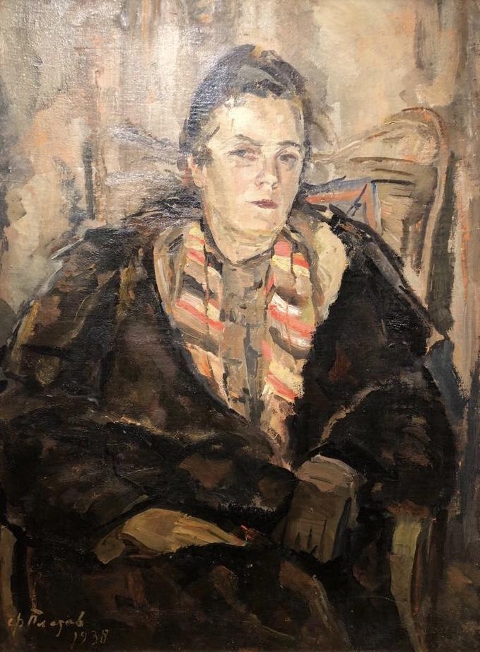 Платов Федор Федорович. Портрет Ермиловой-Платовой