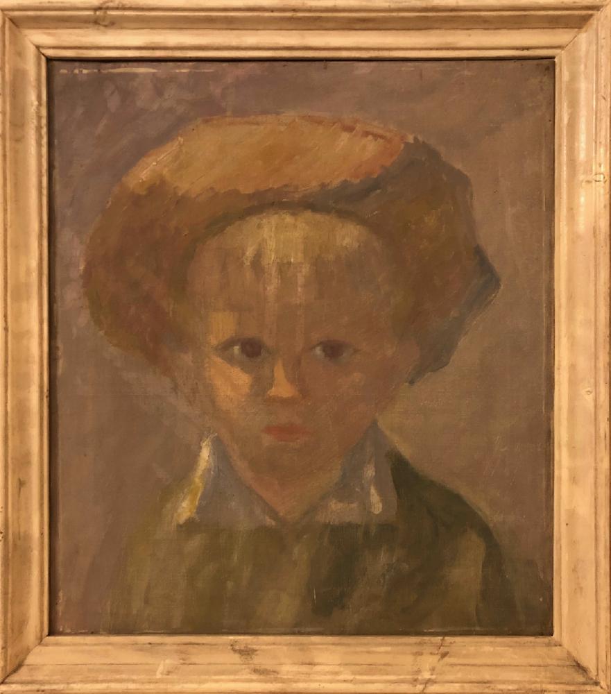 Захаров Павел Григорьевич. Портрет дочери
