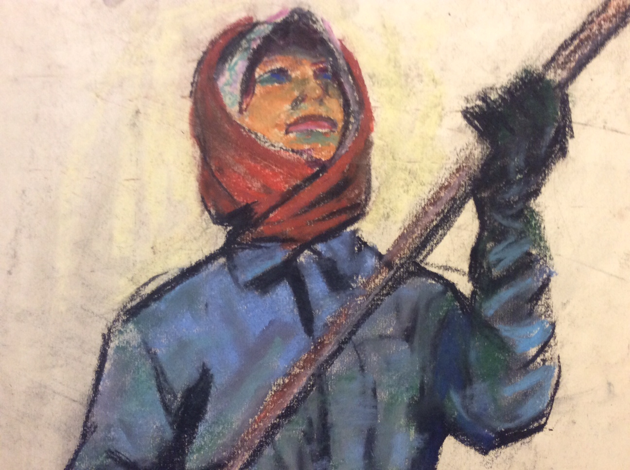 Джемаль Джаид Шамиль Оглы. За работой