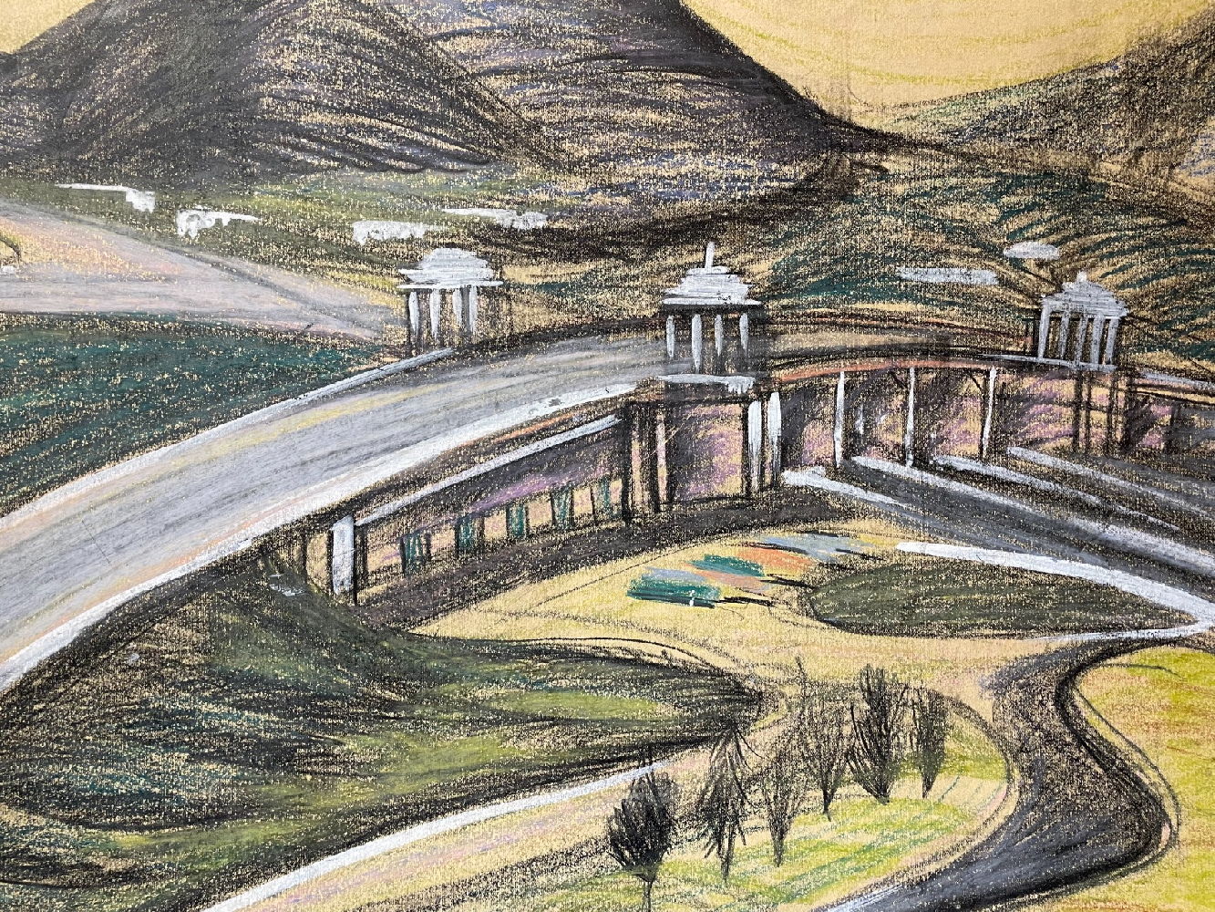 Джемаль Джаид Шамиль Оглы. Мост Мира. Улан-Батор, Монголия.