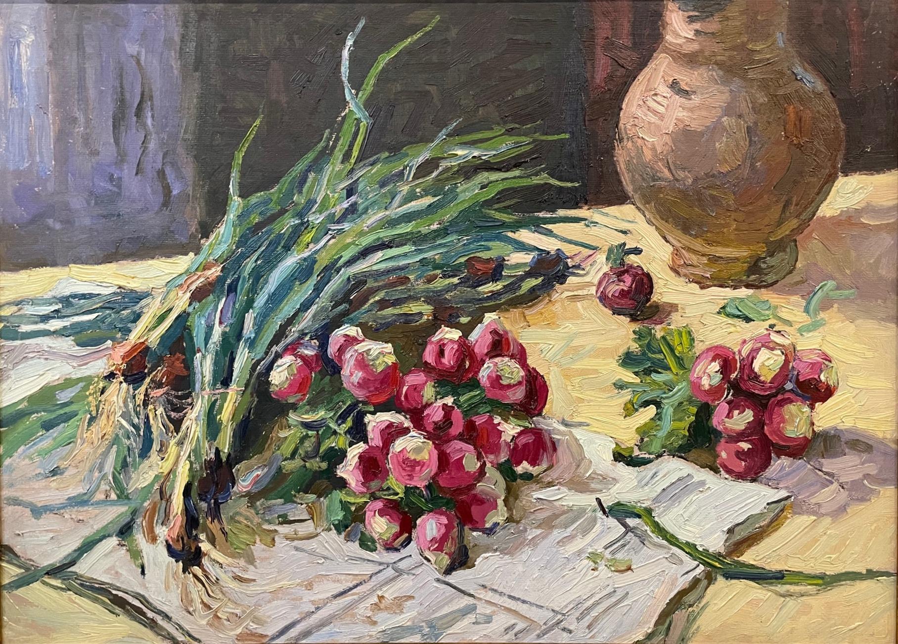 Титов Анатолий Михайлович. Редиска и лук