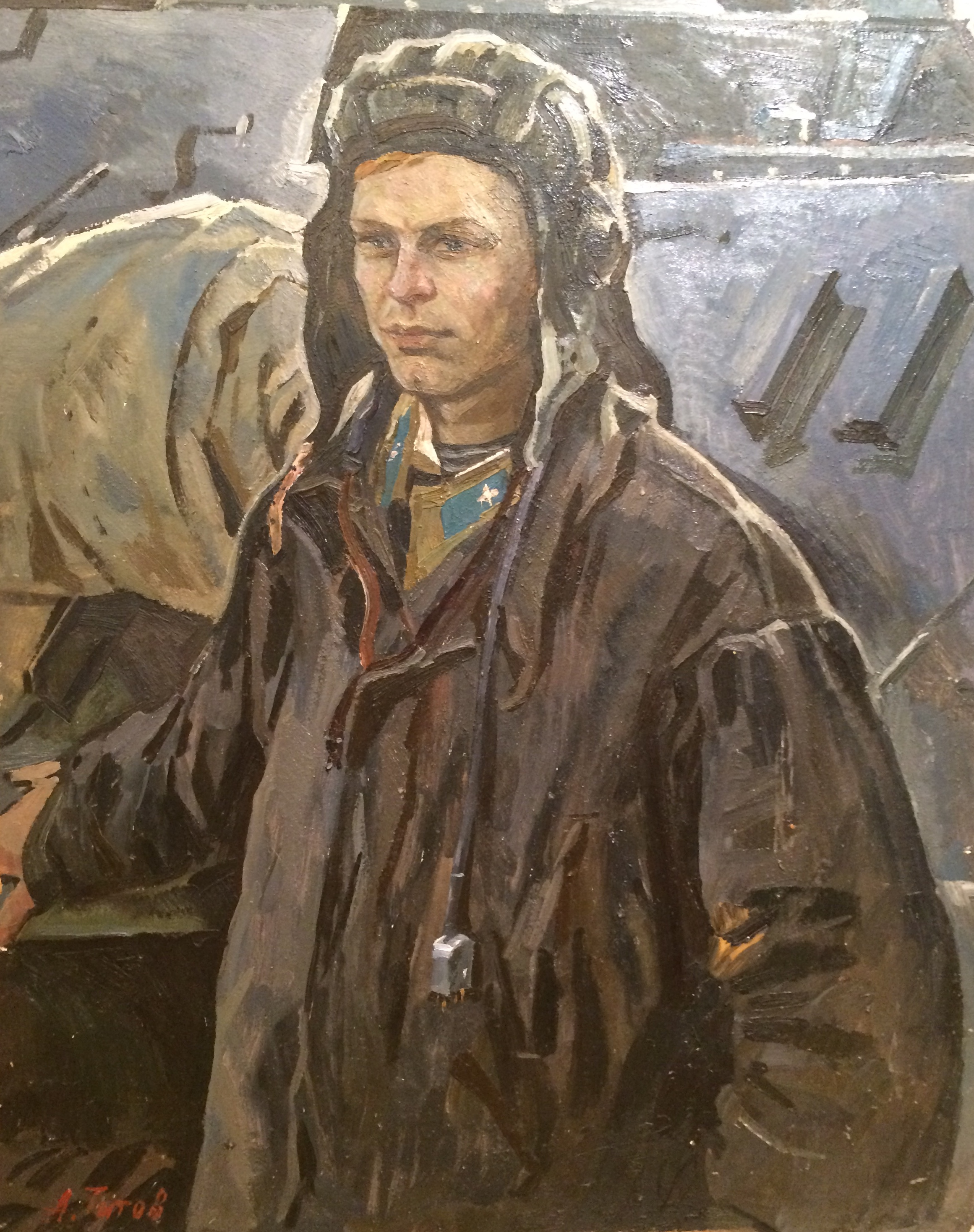 Титов Анатолий Михайлович. Танкист.