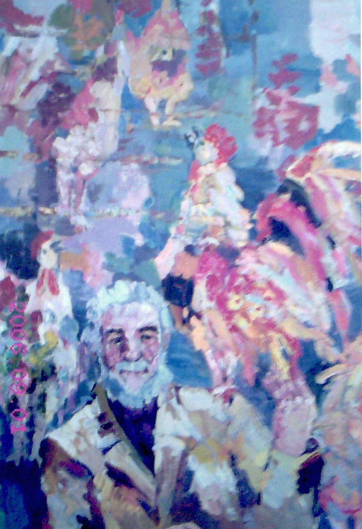 Виноградов Леонид Николаевич. Мой дед с петухами