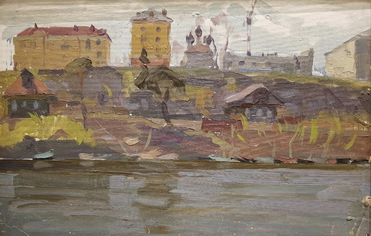 Успенский Лев Александрович. Городок у реки