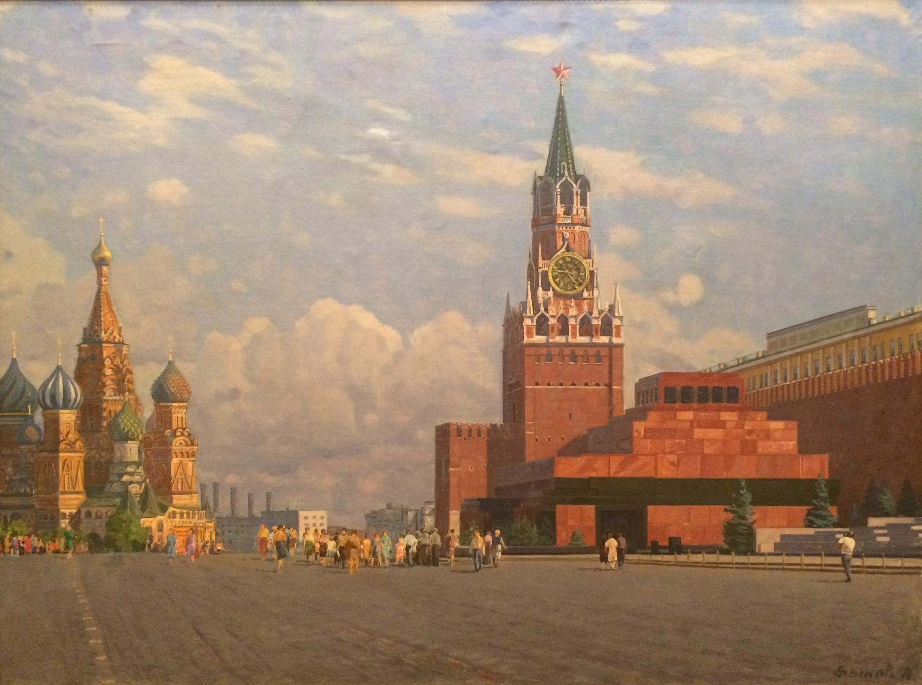 Быков Анатолий Дмитриевич. Красная площадь