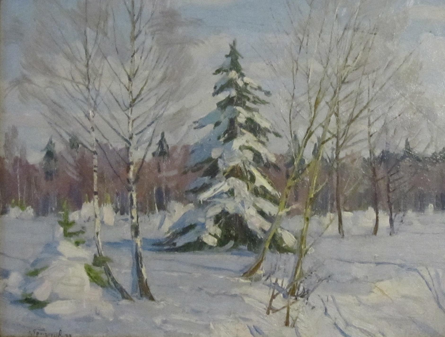 Григорьев Сергей Алексеевич. Русская зима.