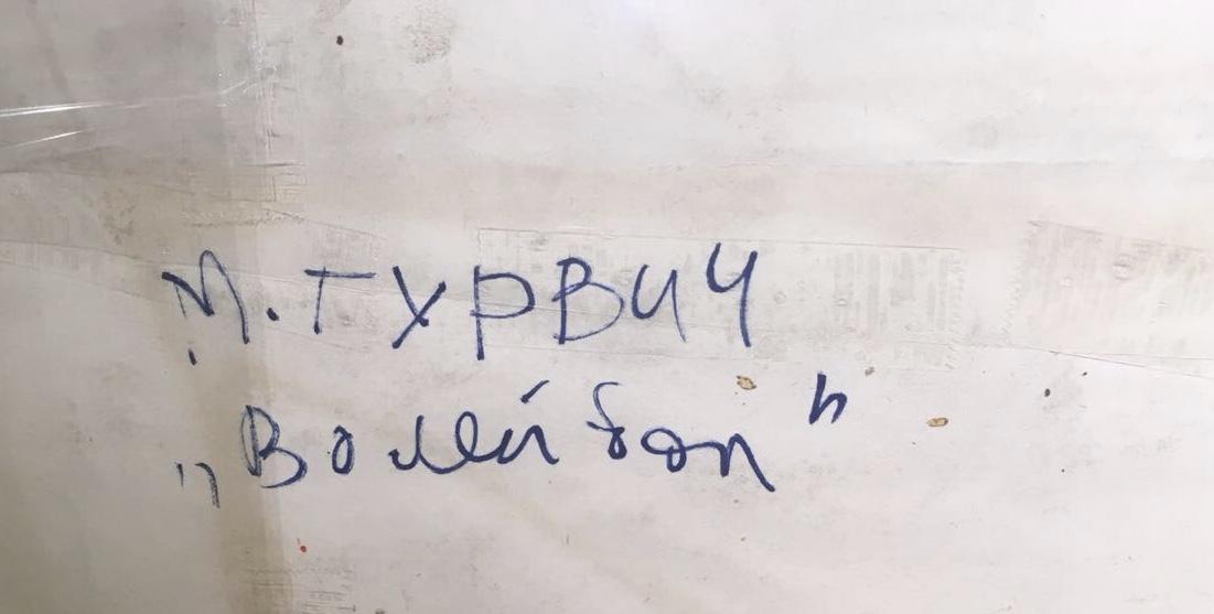 Оборот. Гурвич Михаил Иосифович. Волейбол