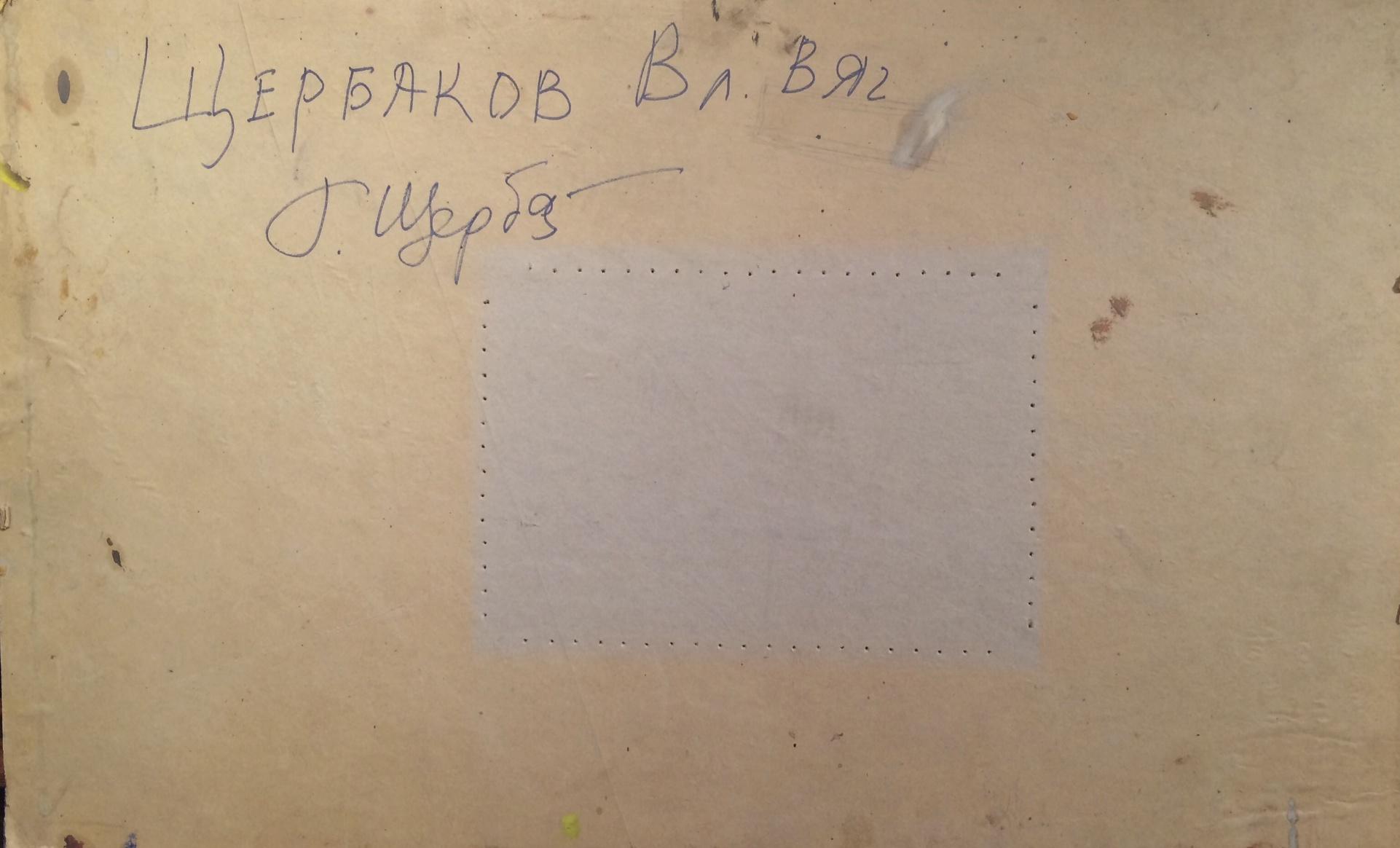 Оборот. Щербаков Владимир Вячеславович. ВДНХ