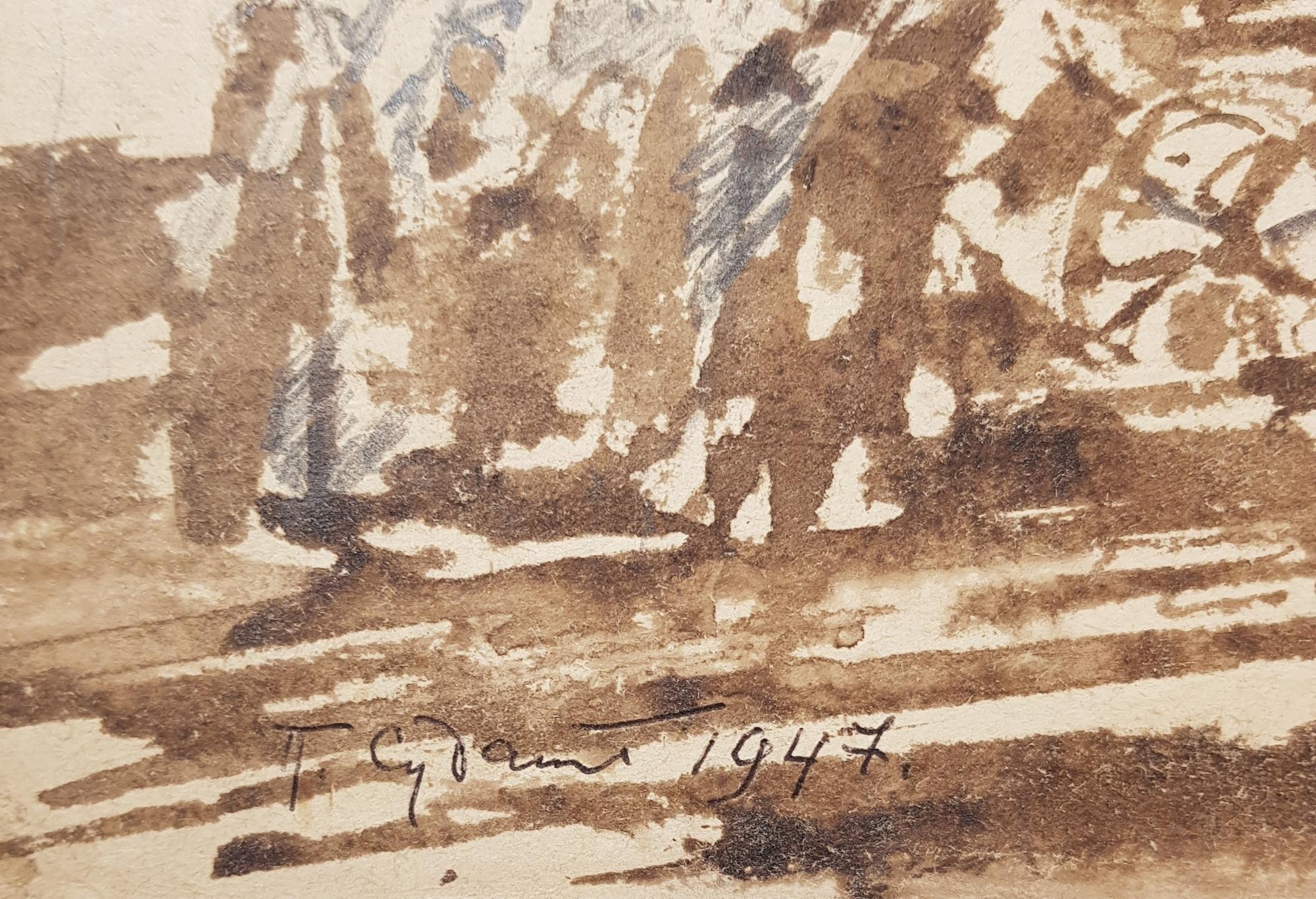 Подпись. Судаков Павел Федорович. Пленные советские солдаты