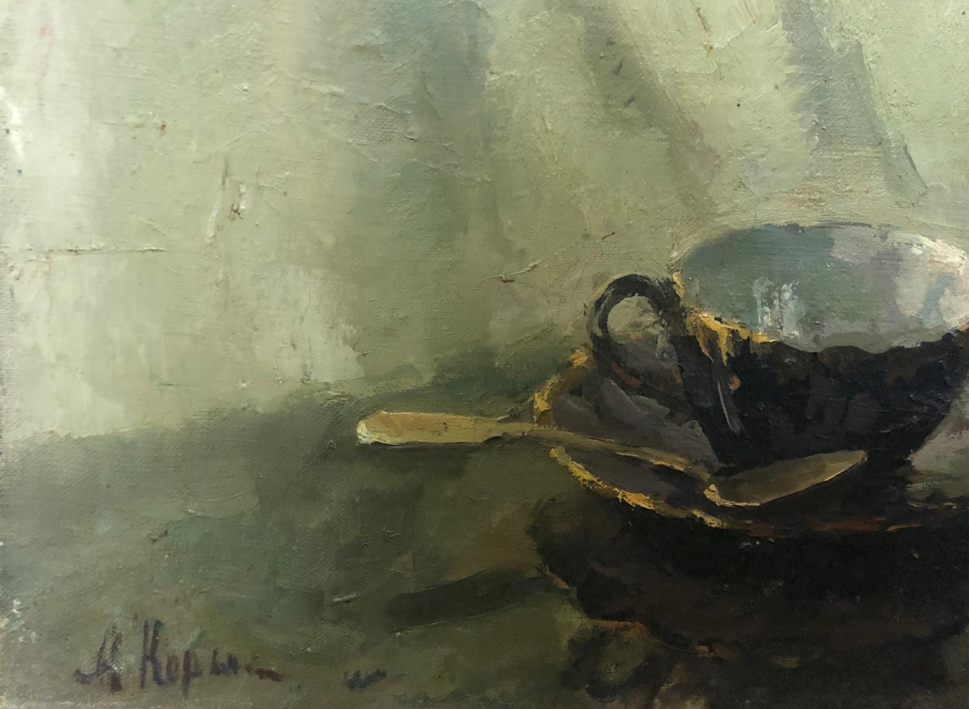 Подпись. Корыгина Анастасия Константиновна. Турецкая гвоздика