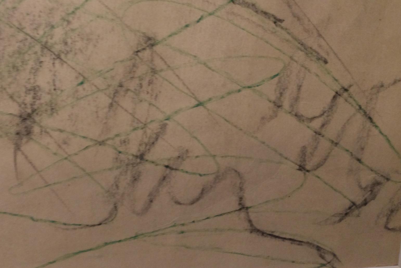 Подпись. Яковлев Владимир Игоревич. Портрет Ираклия Мосешвили с цветком.