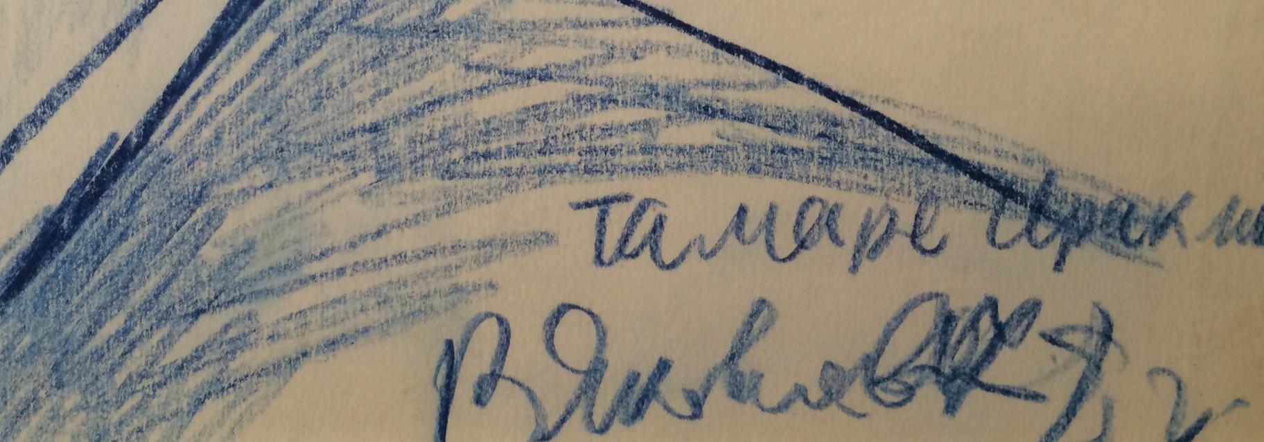 Подпись. Яковлев Владимир Игоревич. Тамара.
