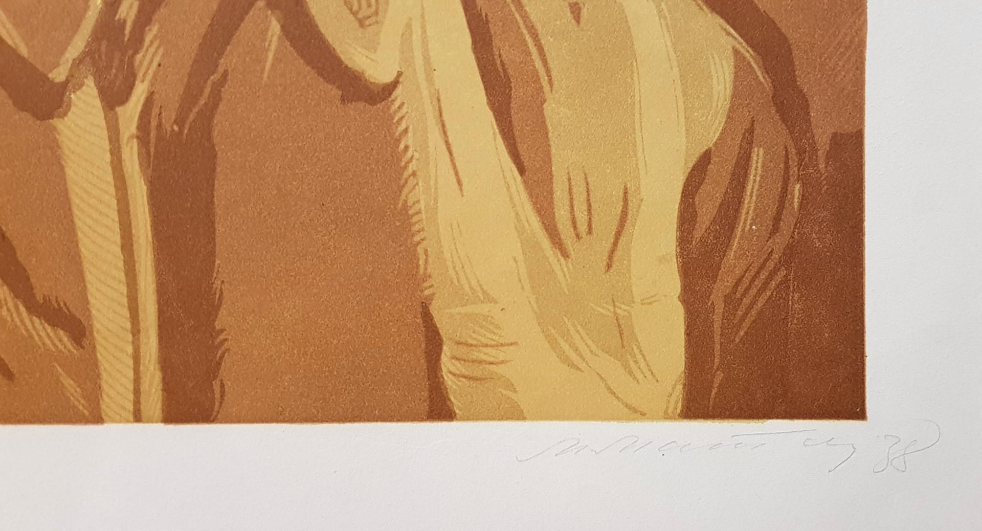 Подпись. Маторин Михаил Владимирович. Портрет Иосифа Виссарионовича Сталина