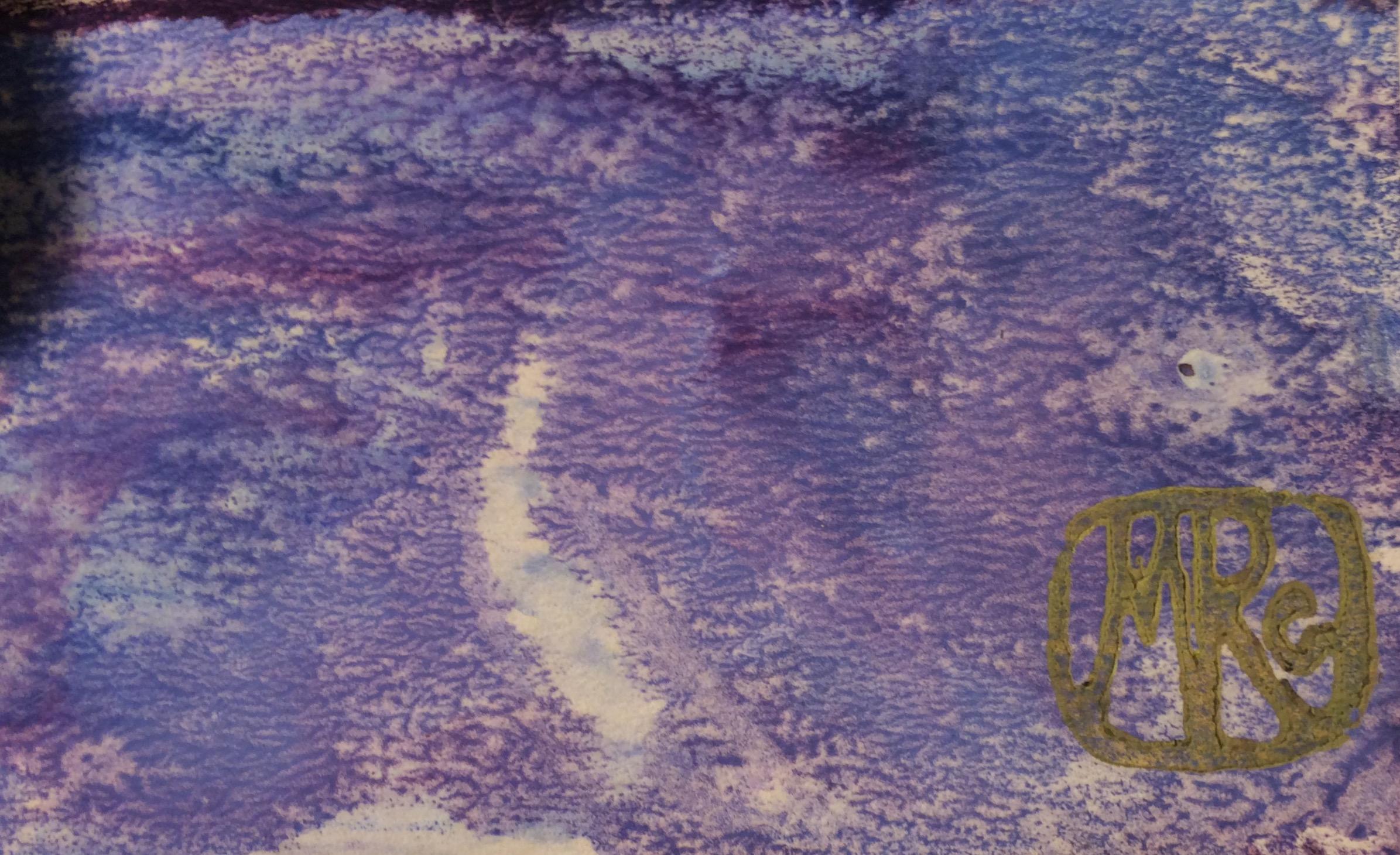 Подпись. Раубе-Горчилина Мария Вячеславовна. Ветка лимона на окне.