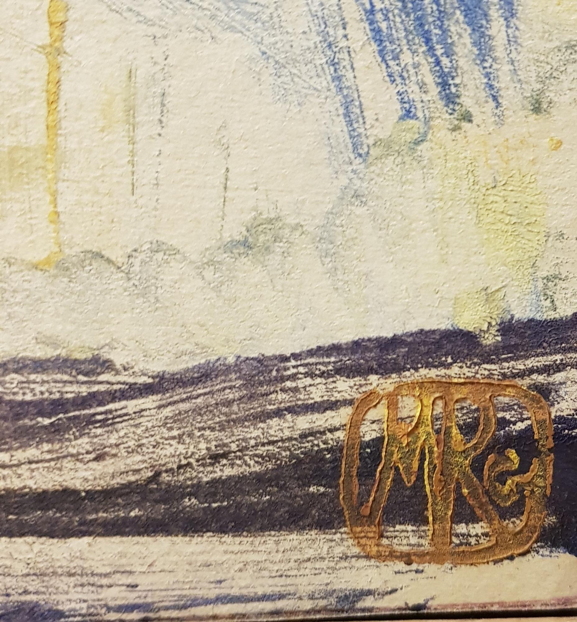 Подпись. Раубе-Горчилина Мария Вячеславовна. Натюрморт с цветами