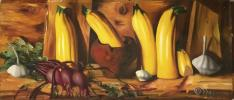 "Olga Grechina ""Still life with zucchini."""