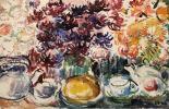 "Yekaterina Sergeyevna Zernova ""Still Life with Teapots"""